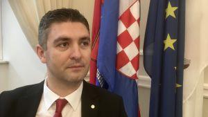 Dubrovniks borgmästare Mato Franković.