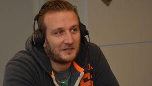 Conny Karlsson i Sportmåndag 23.2.2015
