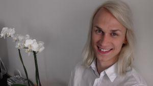 Christoffer Strandberg är en av Vegas Sommarpratare 2014