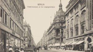 Friedrichstrasse an der Leipzigerstrasse