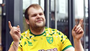 Matt Ambrose är en stor Norwich City fan.