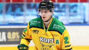 Den 23-årige Arttu Ruotsalainen toppar såväl skytteligan som poängligan med sina 16 mål och 27 poäng.