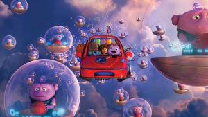 Bild från animationsfilmen Home.
