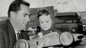Jack och sonen Gary Brabham, 1963.
