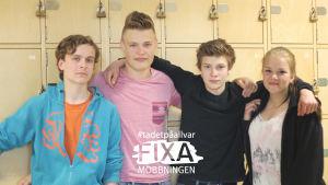 Elever från Sarlinska skolan