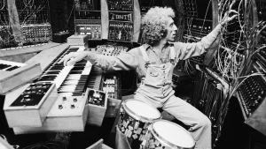 Malcolm Cecil (Tonto's Expanding Head Band) studiossa