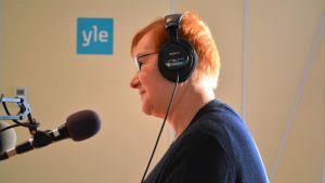 Eivor Lindholm, reporter på Yle Östnyland, går i pension den 5.11.2014.