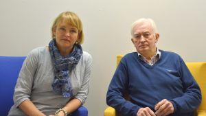 Ansa Lindqvist-Bergheim & Björn Sundqvist