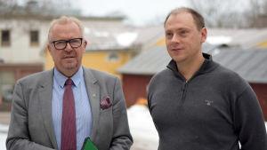 Ragnar Lundqvist och Anders Walls