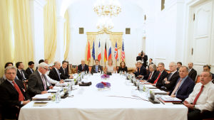 Förhandlingar i Geneve om Irans kärnteknikprogram