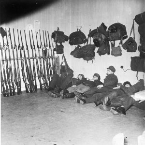 Lepohetki Kirjolan kartanossa. 1939