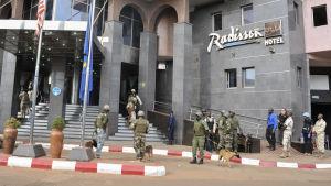 Gisslandrama på Radissonhotellet i Bamako.