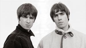 Noel och Liam Gallagher från bandet Oasis