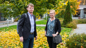 Pasi Korhonen och Pirkko Lahdelma.