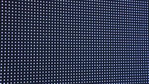 Lysdioder i en elektronisk ljusreklamtavla