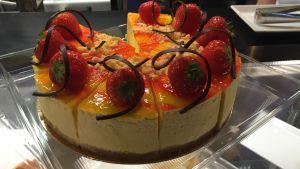 Mango-ostkaka vid MBakery som är årets bageri 2015