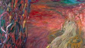 "Nanna Susis målning ""Maa - Land"""