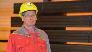 Timo Jansson är huvudförtroendeman på Ssab i Hangö.