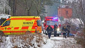 Ambulans och räddningspersonal