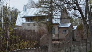 Stort stenhus i Lovisa.
