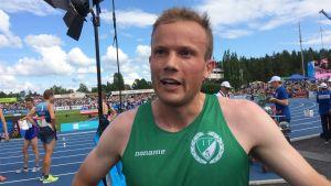 Victor Lövdal, Kalevaspelen 2017.