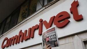 Den turkiska tidningen Cumhuriyet