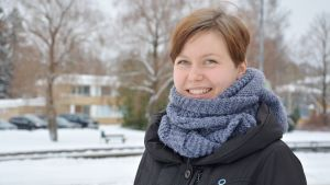 Maria Johansson i Pargas har diabetes.