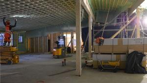 Kvevlax lärcenter byggs.