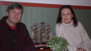 Janne Dahlström och Marina Wasastjerna