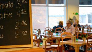 Lunchrestaurangen Kalle J i Lovisa.