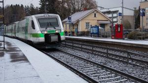 Bild på ett tåg