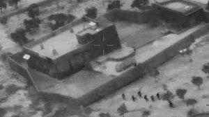 Amerikanska specialstyrkor rör som gården där IS-ledaren Abu Bakr al-Baghdadi gömde sig