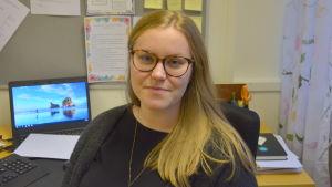 Sanna Tuomela är projektledare för projektet PEPP, den österbottniska drogförebyggande modellen.