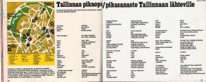 Vuoden 1978 Ratto-lehdessä julkaistiin pikasanasto Tallinnaan meneville seksituristeille.