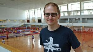 Fullmäktigeledamot i Helsingfors, Leo Stranius i Kisahalli