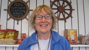 Monica von Bonsdorff är medlem i styrelsen för Barösunds byaråd.