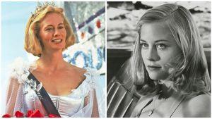 Cybill Shepherd: sama roolihahmo elokuvissa Texasville (vas.) ja Viimeinen elokuva.