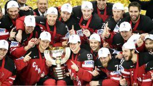 Kanada jublar över VM-guld 2015