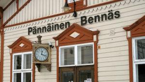 Stationshuset i Bennäs.