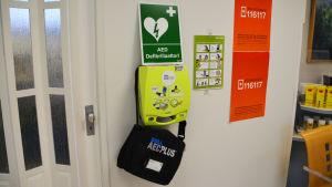 Defibrillator i nya apoteket