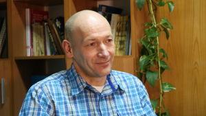 Bogdan Jaroszewicz, chef för Geobotaniska stationen i Białowieża.