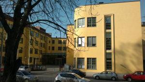 Asa-huset vid Åbo Akademi vintern 2014