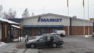 S-market i Sjundeå.