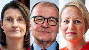 De ansvariga placerarna på Kyrkans, Statens och Kommunernas pensionsfond per februari 2020