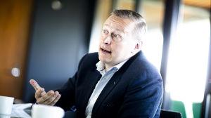 Carl Petterson, VD för pensionsbolaget Veritas.