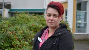 Annemi Skog är emot en fusion mellan Korsholm och Vasa.