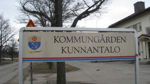 Ingå kommungårdsskylt