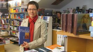 Bokförsäljare Jonna Nyström