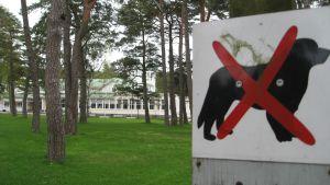 Casinoparken i Hangö.