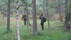 Soldater i skogen